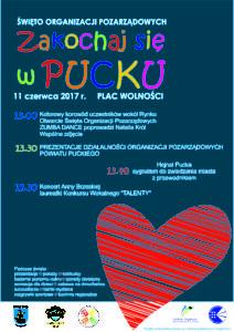 zakochaj się w Pucku - plakat